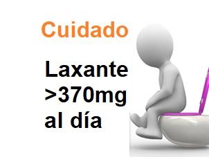magnesio laxante