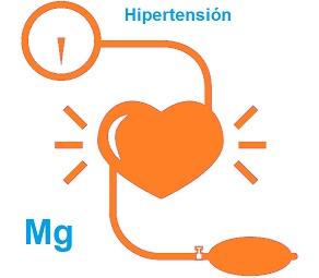 magnesio e hipertensión