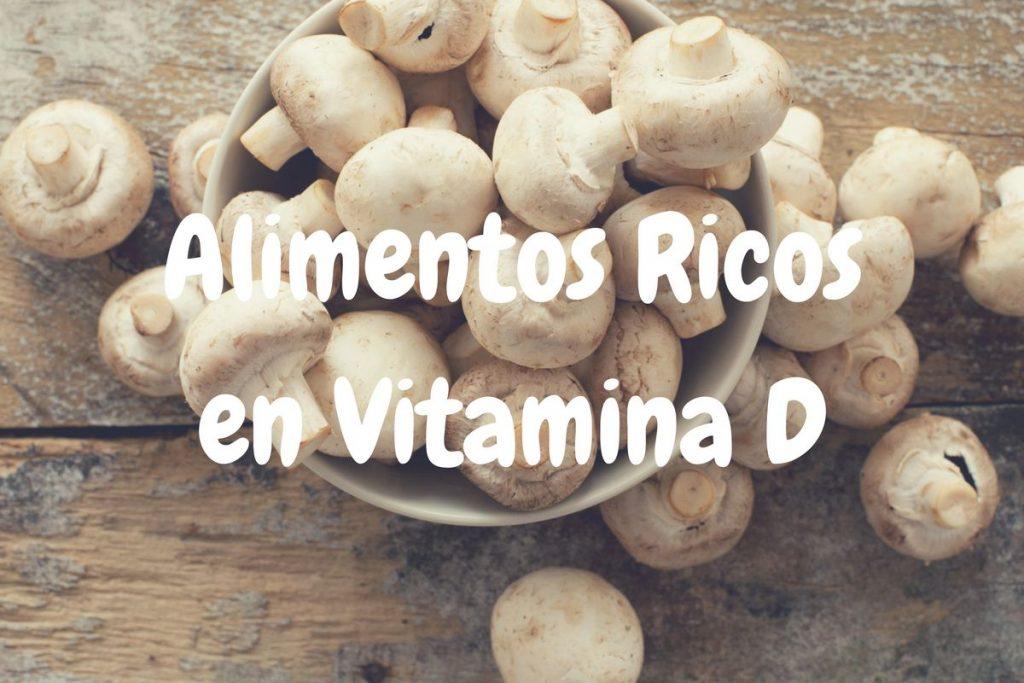 Alimentos ricos en vitamin d