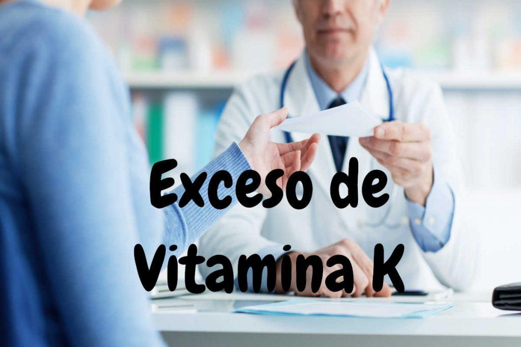 Exceso de vitamina K
