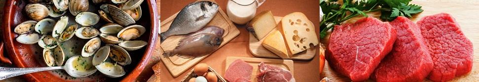Alimentos más ricos en B12