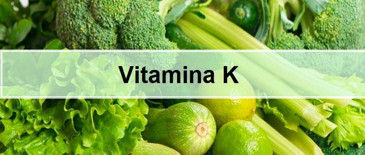 Alimentos ricos vitamina k