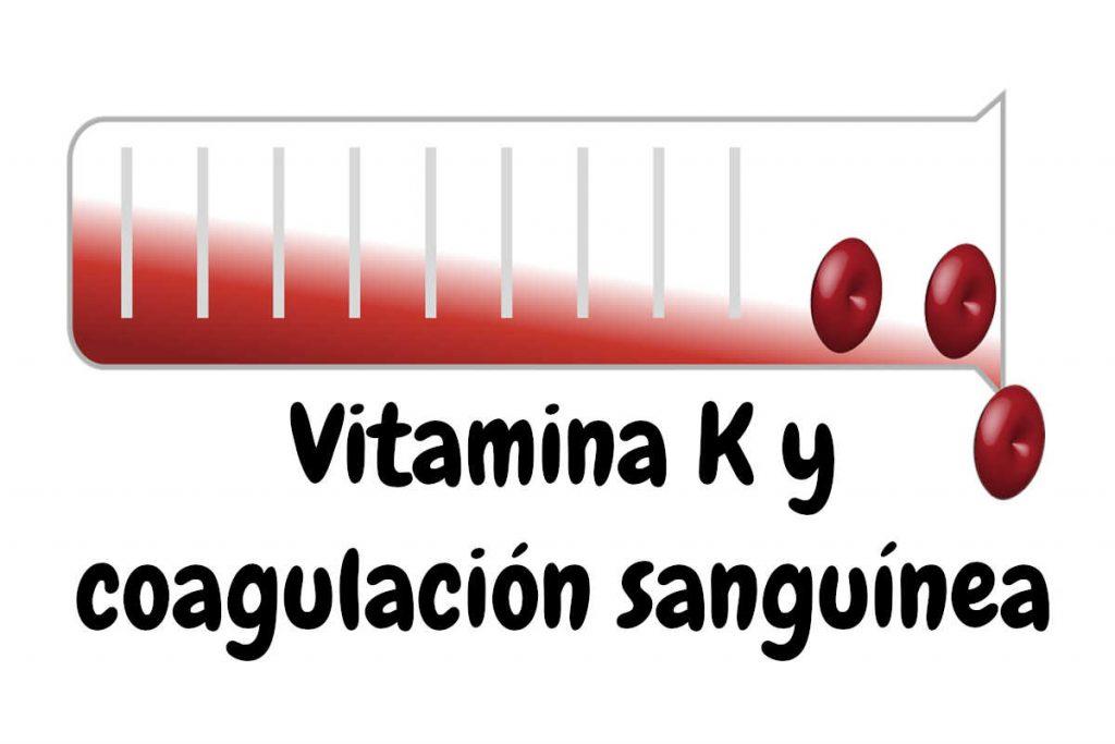 Vitamina K y coagulación sanguínea
