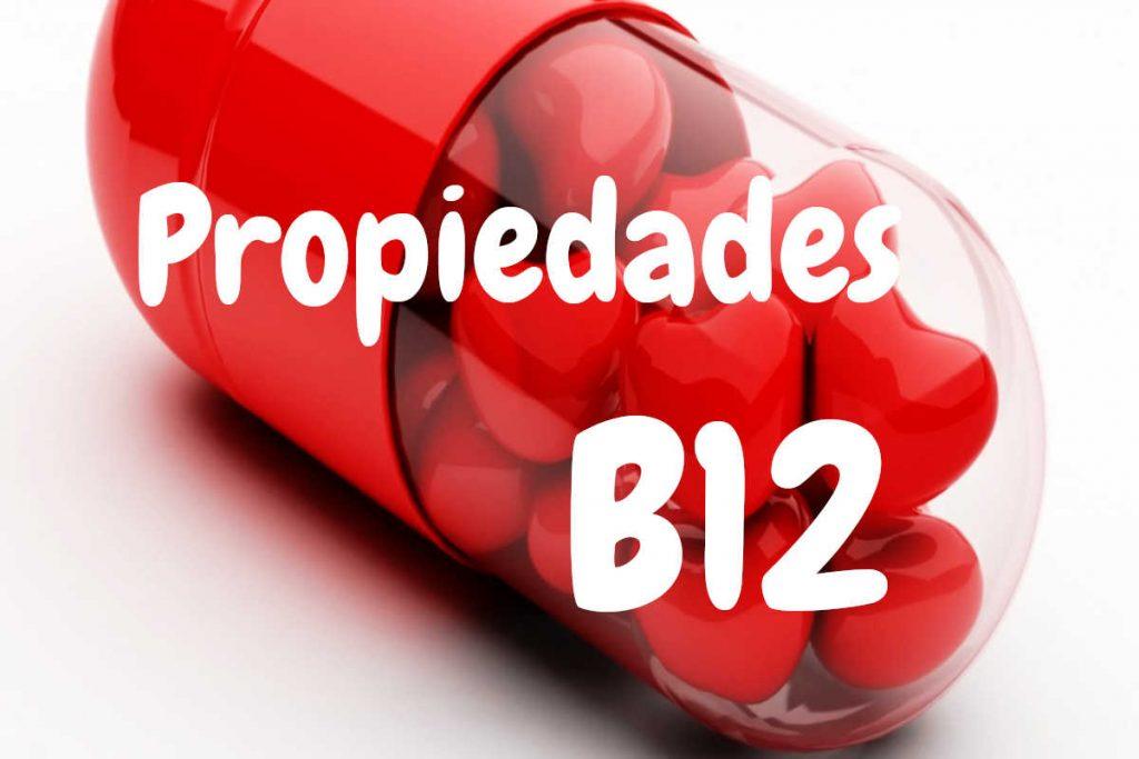 Propiedades Vitamina B12