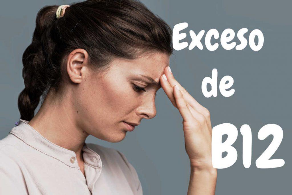 Principal problemas por el exceso de Vitamina B12