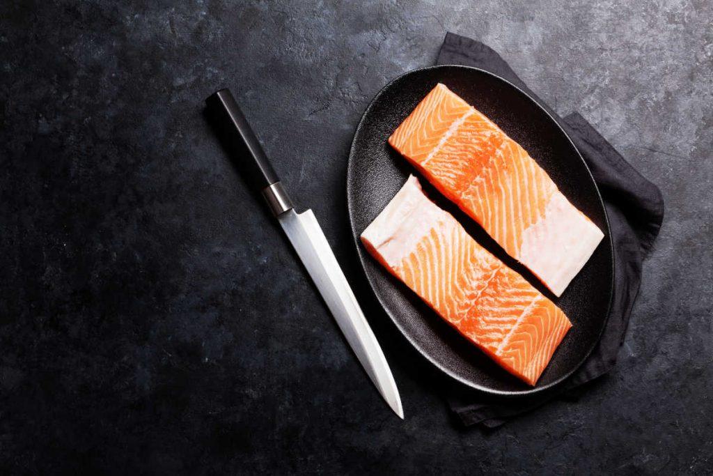 Salmon y vitamina B12
