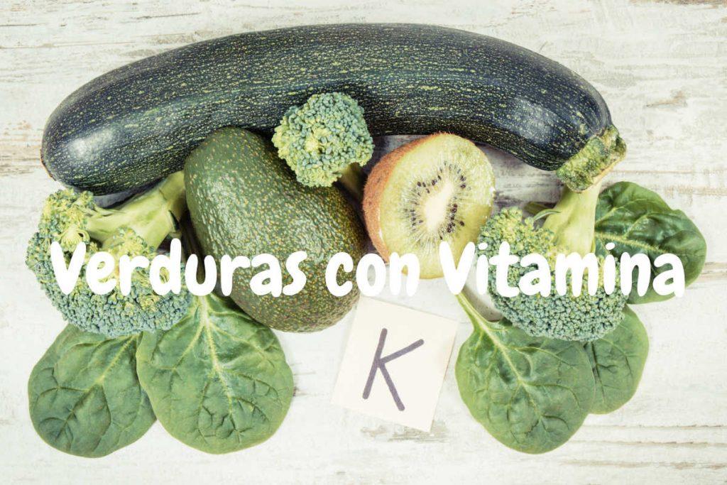 Lista alimentos con vitamina k