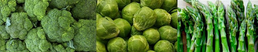 Verduras ricas en vitamina K