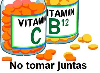 Relación vitaminas c y b12