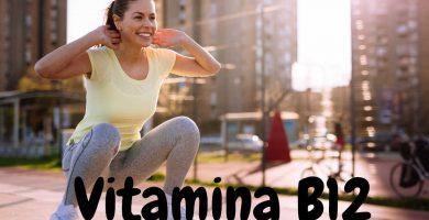 Vitamina B12 para la síntesis de proteínas y nutrientes