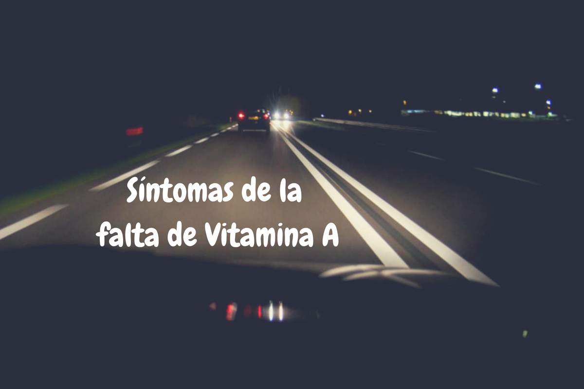Falta vitamina A